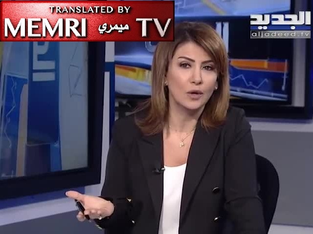 Lebanese TV Host Samar Abou Khalil Accuses Government of Depravity, Corruption, Blames It for Poverty, Unemployment in Lebanon